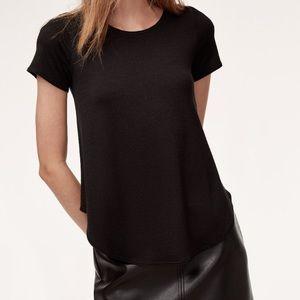 Aritzia Wilfred Esther knit T-shirt, size medium
